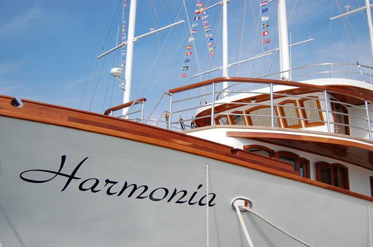 MY Harmonia