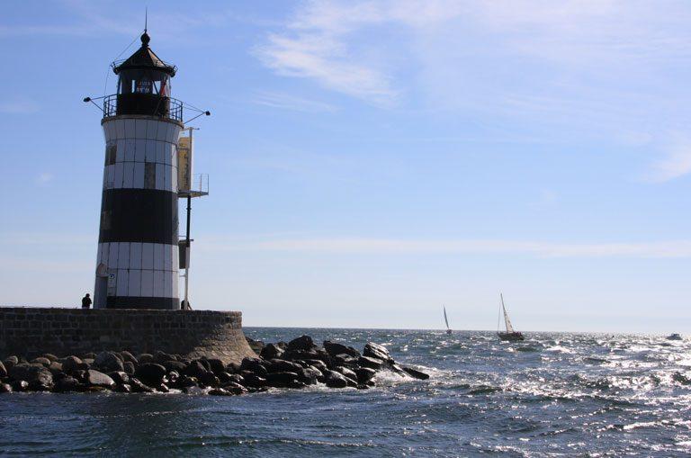 Schiffscharter Dänemark - Leuchtturm