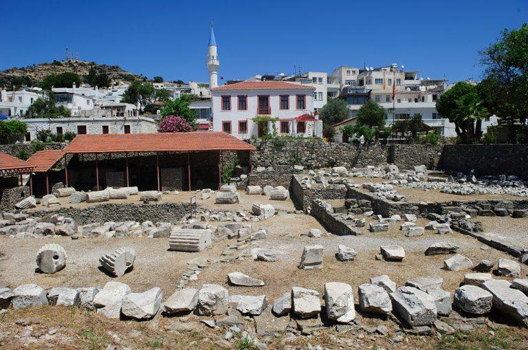 Schiffscharter Türkei - Mausoleum von Halikarnassos