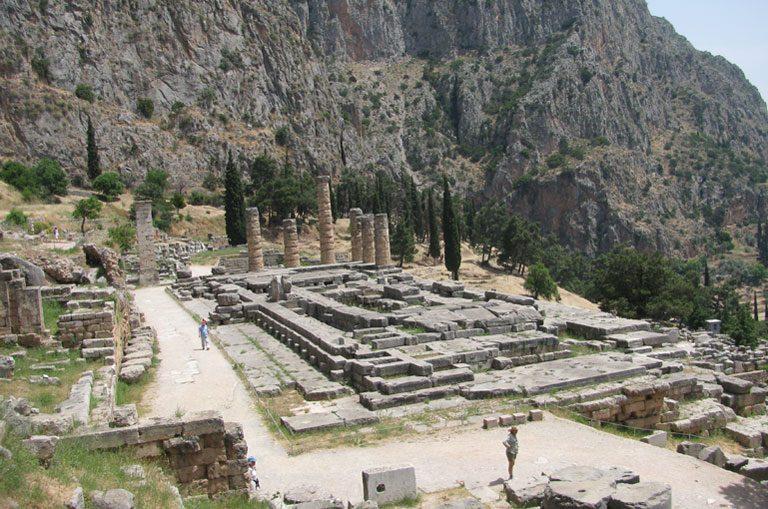 Schiffscharter Griechenland - Delphi