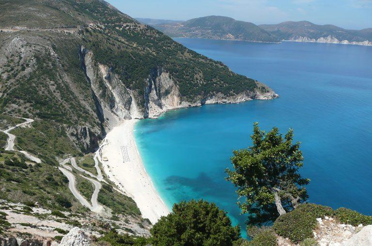 Schiffscharter Griechenland - Myrtos Beach