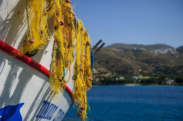 Schiffscharter Griechenland - Fischerboot