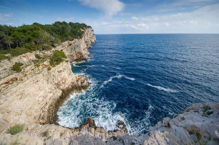 Schiffscharter Kroatien - Naturpark Telascica