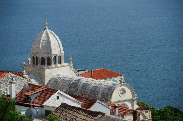 Schiffscharter Kroatien - Kathedrale Sibenik