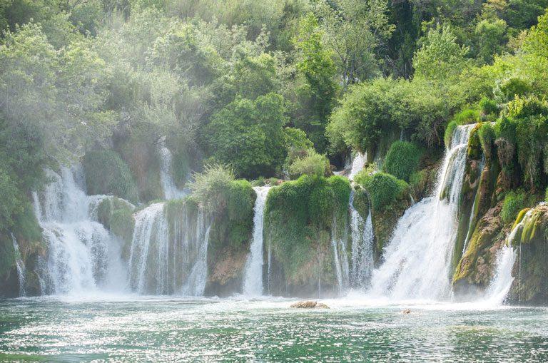 Schiffscharter Kroatien - Krka Wasserfälle