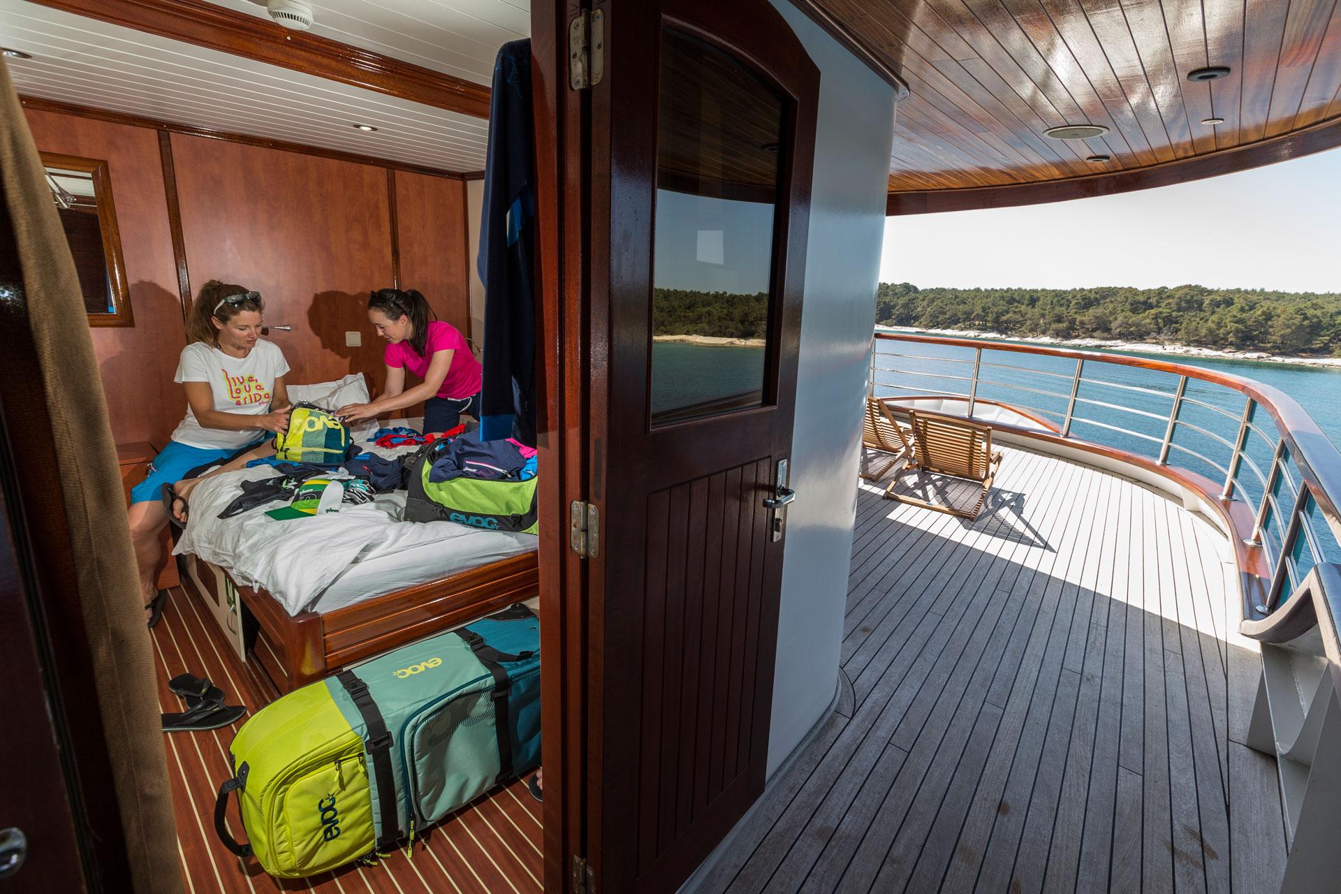 Kofferpacken adé - Yachtcharter im Mittelmeer